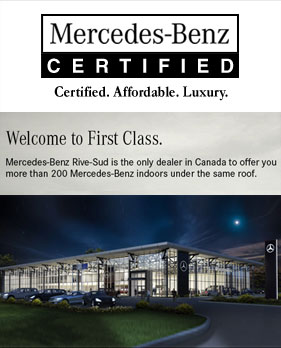 Certified Mercedes-Benz on the South Shore